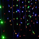 3.5M 96LEDs Droop Curtain Icicle String Light for Christmas Outdoor Decoration European Plug Colors
