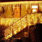 3.5M 96LEDs Droop Curtain Icicle String Light