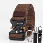 Men Tactical Belt Coffee