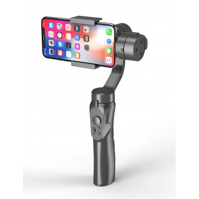 3-Axis Handheld Smartphone Gimbal Stabilizer for iPhone X 8Plus 8 7 Android Sports Cameras gray