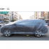3 Size LDPE Film Outdoor Clear Disposable Full Car Cover Rain Dust Resistant Garage Universal Temporary Transparent M