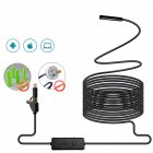 3 in 1 WIFI Endoscope Camera Mini Waterproof Hard Cable Inspection Camera USB Endoscope Borescope  5M
