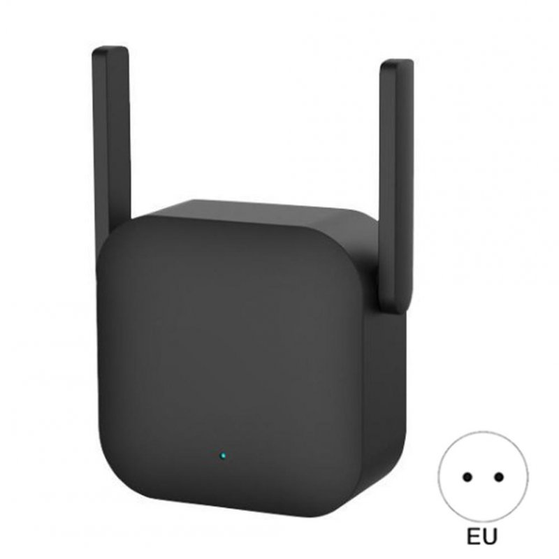 300m WIFI Power Amplifier Professional Router Network Extender Power Repeater Rotator 2 Antenna for Xiaomi EU Plug