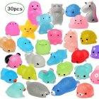 Glitter Mini Animal Shaped Squishies Toy