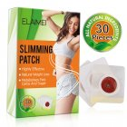 30Pcs box Slimming Patch Navel Sticker Natural Weight Lose Fat Burner Detox Paste 30 posts