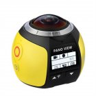 360 Angle Panoram Sport Camera DV VR Video Camera yellow