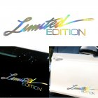 3D Car Decoration Stickers Personalized Car Stickers Scratch Cover Signature Stickers Photo Color