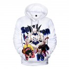 3D Pattern Printed Hoodie Drawstring Leisure Sweater Top Pullover for Man and Woman Section 11_XXL