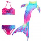 3Pcs/Set Kids Girls Bikini - Rainbow 120