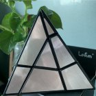 3x3x3 Magic Cube Pyramid Puzzle Speed Cube Toys For Children Ghost pyramid black background