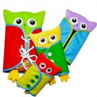 4 Piece Set Creative Owl Clothing Toys Puzzles Baby Early Education Toy Owl set of 4