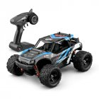 40+MPH 1/18 Scale RC Car 2.4G 4WD High Speed Fast Remote Controlled Large TRACK blue