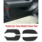 4pcs/set Car door Anti Kick Pad Protection Side Edge Film Protector Stickers