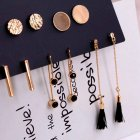 5 Pairs/set Women Stud Earrings Set