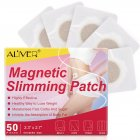50Pcs/box Magnetic Slimming Patch Navel Sticker Natural Fat Burner Weight Lose Paste 50PCS