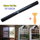 50cm 3m 15  VLT Black Pro Car Home Glass Window Tint Tinting Film Roll 50 100cm