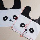50pcs/lot Cute Panda Plastic Candy Biscuit Packaging Wrapping Treat Gift Bag