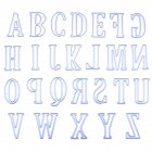 5CM Large Big Alphabet 26 Letters for DIY