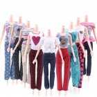 5PCS 29CM Doll s Suit Vest Jacket Trousers Doll Clothing Series  without Doll  Different models