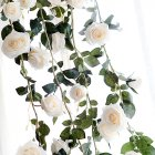 6 Feet Hand-made Artificial Fake Rose Flower