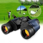 60x60 Day Night Telescope Zoom Ultra HD Binoculars for Hunting Camping black