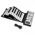 61 Keys Flexible Roll Up Keyboard Piano Portable Electric Piano Musical Educational Instruments