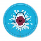 68inch Outdoor Lawn Game Mat Cartoon Pattern Water Spray Toy for Kids Boys Girls 170 blue shark