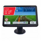 7 inch Car/Truck GPS Navigation Q10 8GB+256M Maps for Games Movies Music Albums black