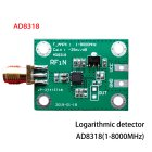 70dB Amplifier Module RF Logarithmic Detector RSSI Measurement Power Meter Module AD8318 LNF 1 -8000MHz RF Wide Band Gain  green
