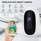 720p Wireless Remote Monitoring Camera Home High-definition Camera Smart WIFI IP Camera EU Plug