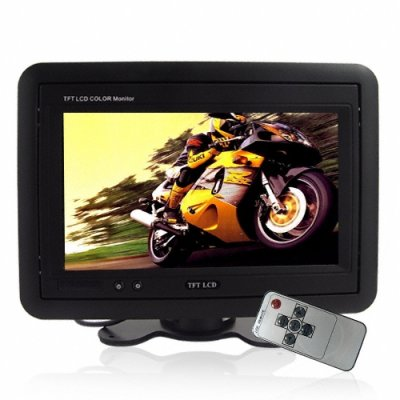 7 Inch TFT Headrest Monitor