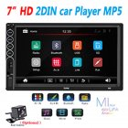 7inch 2 Din Car Radio MP5 Stereo Receiver Auto radio Car Stereo Audio Radio Mirror Link Support Rear Camera With camera