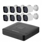 Buy 8 Channel Full-HD AHD DVR System - 1/2.7 CMOS, 1080p Resolution, 20M Night Vision, IP66 Waterproof, 5 Recording Modes