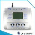 80A 12V 24V MPPT Solar Charge Controller LCD Display Solar Regulator  silver