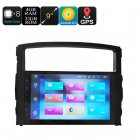 9 Inch Car Stereo One Din - Octa Core, 4+32GB, Android 8.0, GPS, WiFi, 3G Support, CAN BUS, Mitsubishi Pajero