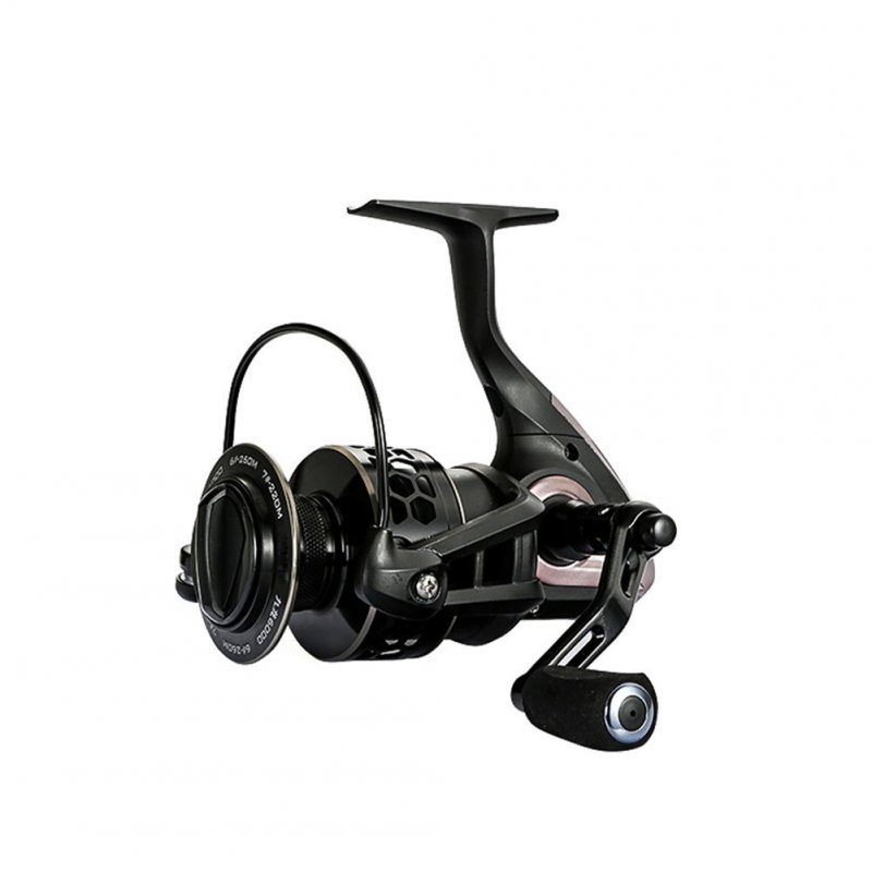 9 axis Steel Alloy Double-color Line Cup Fishing Reel Spinning Wheel Reel Fishing Equipment black_JL4000