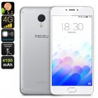 Buy Meizu M3 Note Smartphone - Android OS, 5.5 Inch FHD Display, Octa Core CPU, 2GB RAM, Fingerprint Scanner, 13MP Camera (Silver)