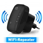 ABS 300M  WIFI Repeater Computer Networking Range Extender Wireless Signal Booster AP Repeater European regulations