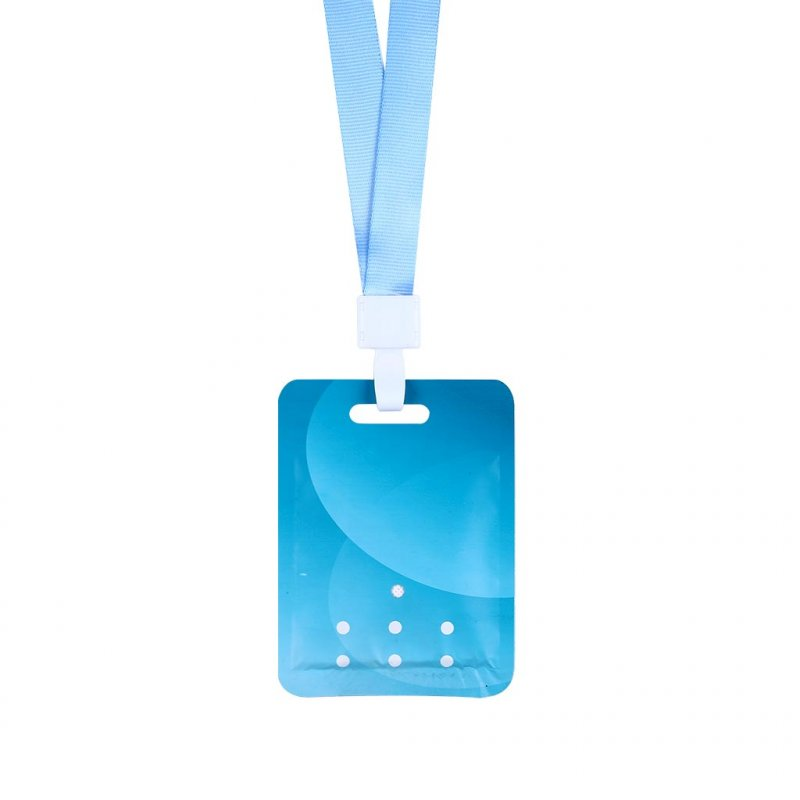 Air Freshener Sterilization Card Disinfection Lanyard Protection Card Anti Virus Antibacterial Card English version