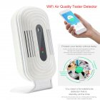 Air Quality Tester Detector WiFi PM 2.5 Formaldehyde Detector Gas Detection Mobile Phone Smart Monitor JQ-300