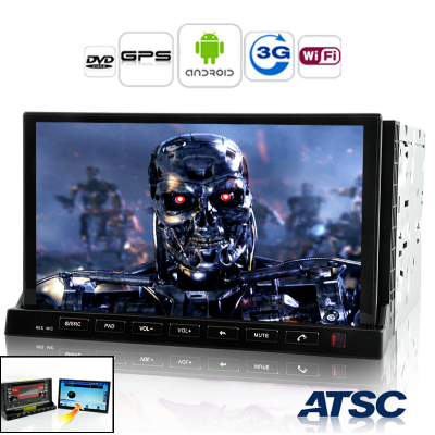 Android Car ATSC DVD+Tablet - Road Terminator