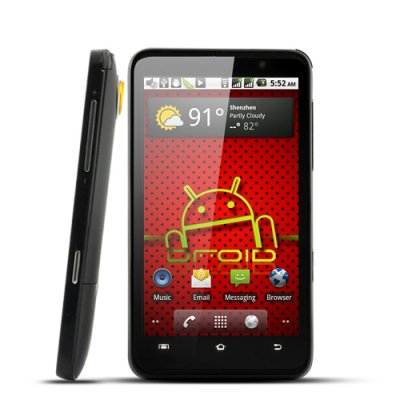 Aurous 4.3 Inch HD Android 2.2 Phone