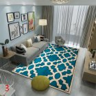Anti Slip Soft Geometric Pattern Carpet Large Size Home Area Rugs for Living Room Kids Bedroom Floor Supplies 61Q6