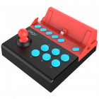Arcade Game Controller IPEGA-9136 Aarcade Game Joystick Controller Plug and Play Support Combo Red black