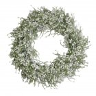 Artificial Babysbreath Wreath Garland for Party Weddings Front Door Decoration white_40CM