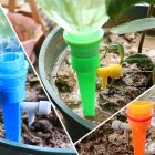Automatic Watering Device Drip Controller for Potted Landscape Random Color_6pcs three-color mix