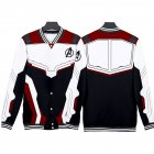 Avengers 4 Endgame Quantum Realm Battle Cosplay Suit Sweater Costume Tops Q-3835-YH04_L