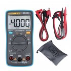 BSIDE ZT100 Digital Multimeter 4000 Counts Back Light AC DC Voltage Ammeter Voltmeter Ohm Tester Frequency Diode Meter