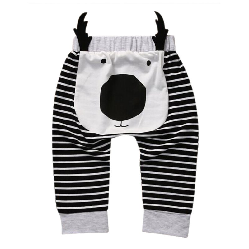 Baby Cartoon Cotton Harem Pants Infant/Toddler Loose Trousers Haroun Pants Summer Spring Christmas Gift