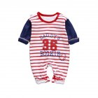 Baby Piece Jumpsuits Cotton Long Sleeve Tops for Daily Out Wearing Number 36baseball uniform _73